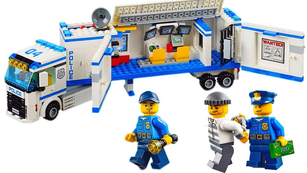 Набор лего полицейский