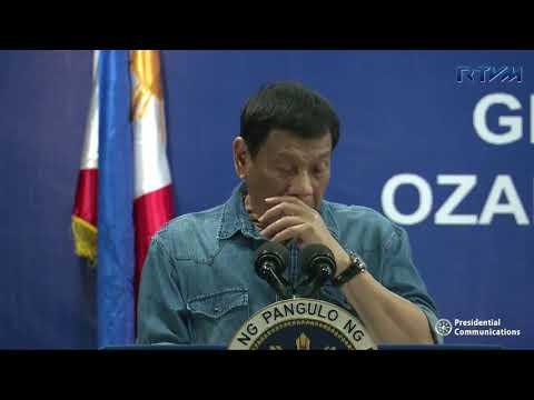 Groundbreaking Ceremony of the Ozamiz Airport Modernization Project (Speech)