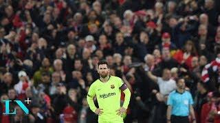 Hazaña del Liverpool: Goleó 4-0 al Barcelona y dejó a Messi fuera de la Champions