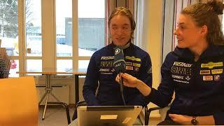 Facebook Q&A mit Hanna Öberg und Sebastian Samuelsson