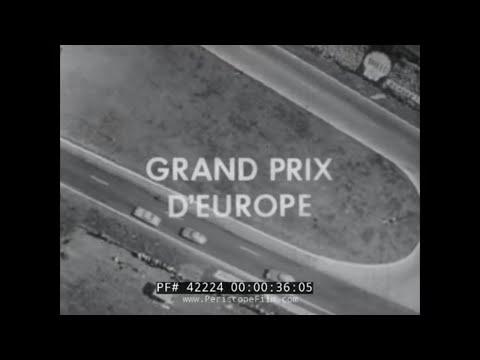 10th GRAND PRIX OF EUROPE  TOUR DE FRANCE 1961 RACE  FERRARI RACE CARS 42224