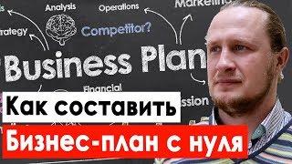Как составить бизнес план с нуля. Структура бизнес плана для начинающих