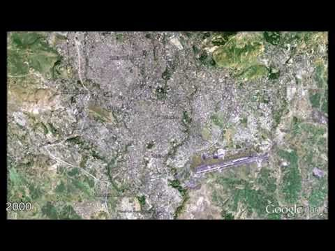 Addis Ababa in Google Earth 1973-2015