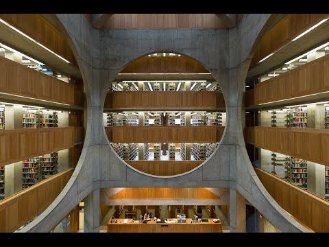 [55] Thư viện Học viện Phillips Exeter | Louis Kahn
