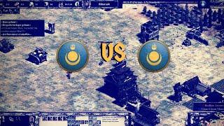 Mongolen vs Mongolen auf Steppe | Age of Empires 2 Definitive Edition [Rangliste]
