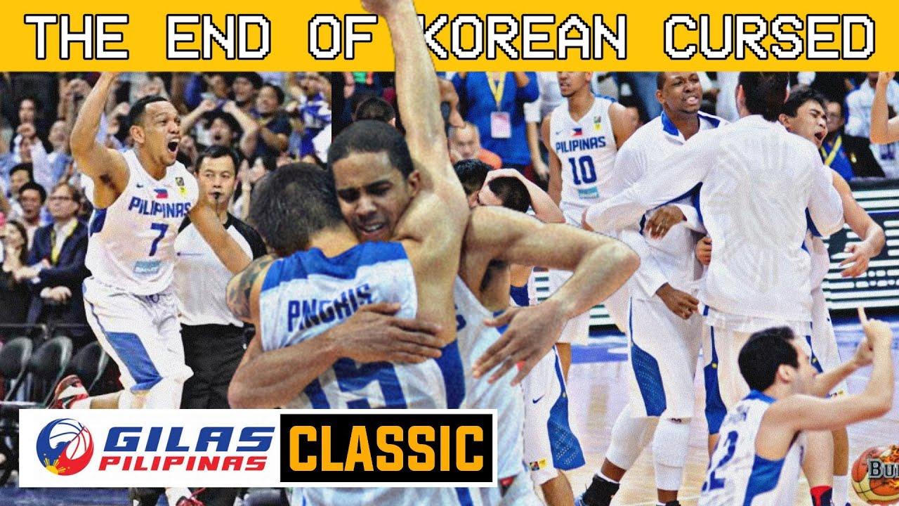 GILAS CLASSIC: Gilas Pilipinas vs South Korea / ANG PINAKAMALAKING PANALO NG PILIPINAS KONTRA KOREA