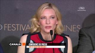 Cate Blanchett on who's the best between her and Marion Cotillard + Marion's reaction