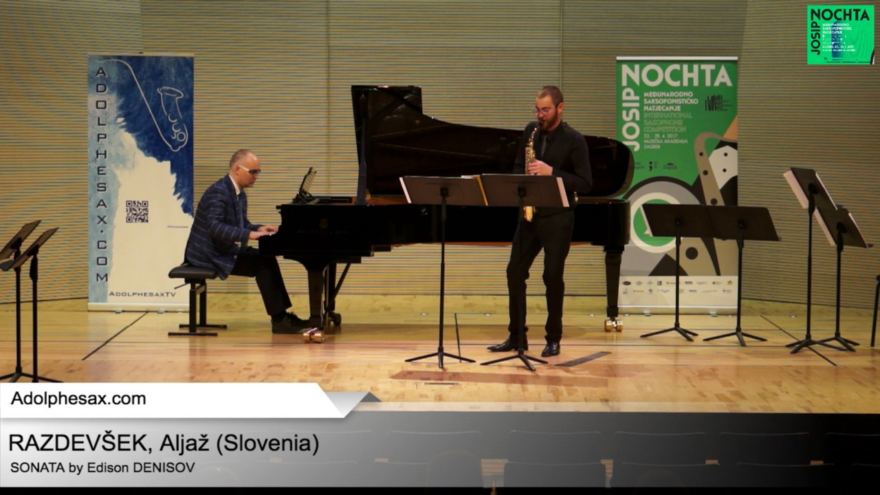 Sonata by Edison DENISOV – ALjaz RAZDEVSEK (Slovenia)