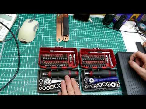Facom Nano 1/4inch socket set