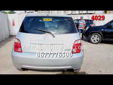 TOYOTA IST 2006 MODEL SILVER COLOUR AVAILABLE IN TANZANIA AT HARAB MOTORS 4029