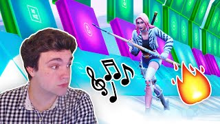 REACTING TO THE BEST FORTNITE CREATIVE MUSIC BLOCK MAPS! (WITH CODES)