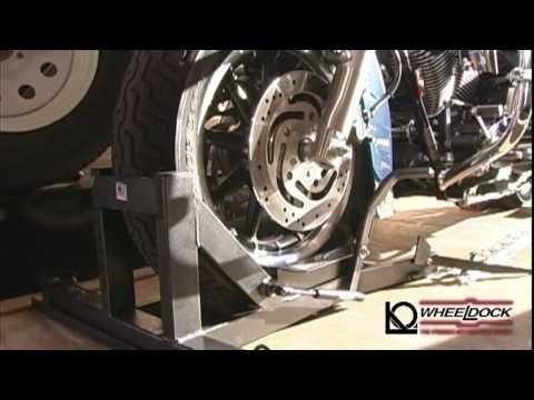 Wheeldock Motorcycle Wheel Chock Features and Bennefits