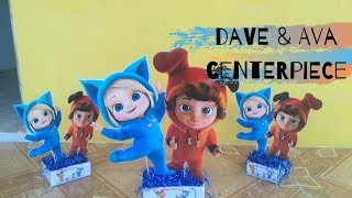 How To Make Character Centerpieces On A Budget | Dave and Ava Centerpieces | Kaylee's Events