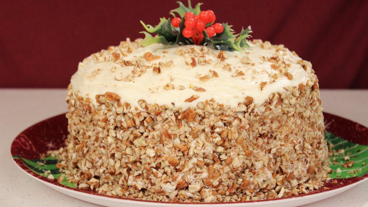 Italian Cream Cake Recipe Youtube