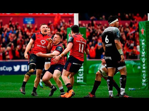 Andrew Conway Phenomenal Try - Munster vs. Toulon 2018 (HD)