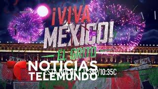México celebra su Día de la Independencia | Noticiero | Noticias Telemundo