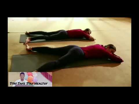 part 3🤩  simple yoga poses  sleeping relaxation