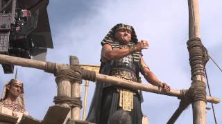 Exodus: Gods and Kings: Behind the Scenes Movie Broll 2- Christian Bale, Ridley Scott