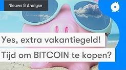 Bitcoin nieuws vandaag: Ongehoord, KOERS breekt uit voor HALVING! | Koop BTC met meer vakantiegeld