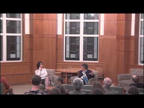 Italian author Dacia Maraini speaks at Holy Cross