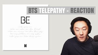 DJ REACTION to KPOP - BTS TELEPATHY