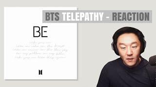 DJ REACTION To KPOP - BTS TELEPATHY