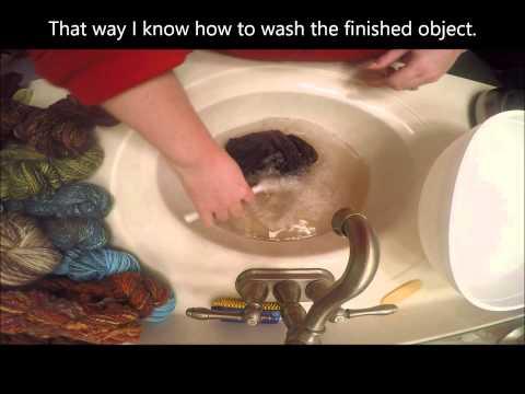 Easily Wash Your Yarn