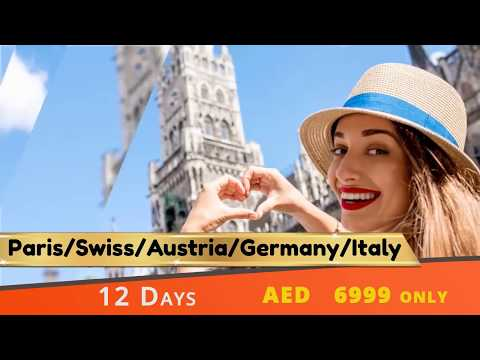 Summer Holiday Packages to Europe