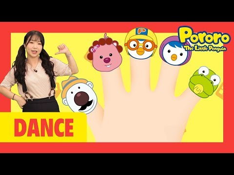 Dance with Pororo!   Finger Family   Let's dance with Pororo and the best dancer!!   Nursery Rhymes
