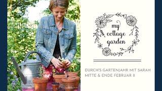 Gartentipps 2 im Februar - Erste Aussaat im Cottage Garten