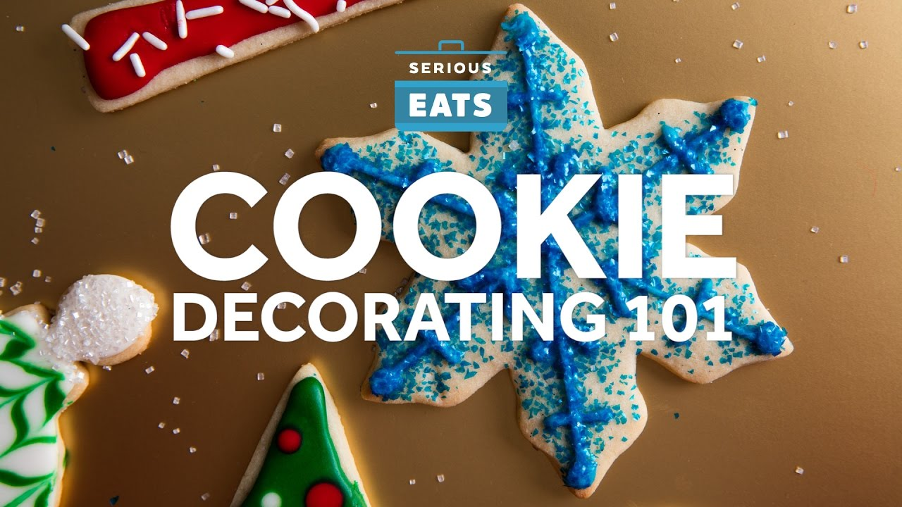 Cookie Decorating 101 - YouTube