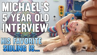Michael's Birthday Interview - Favorite Sibling Reveal!!