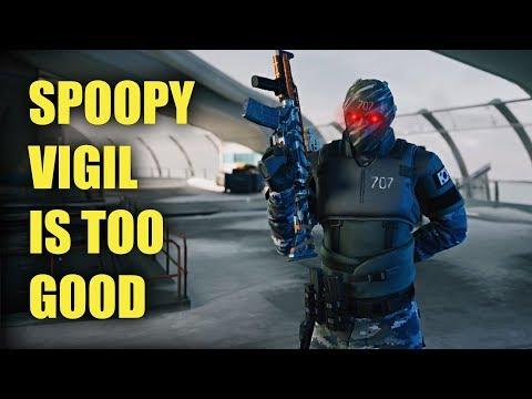 VIGIL IS SPOOPY MAN! - Rainbow Six Siege