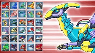 Lightning Parasau Plus + Dino Robot Battle Arena | Eftsei Gaming