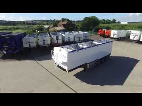 New 2016 Muldoon Bulk Blower Trailer For Sale With Silent Power Pack Drone