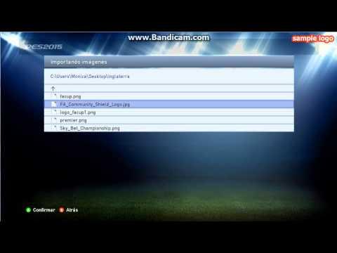 Escudos y nombres verdaderos de la Liga Inglesa PES 2015