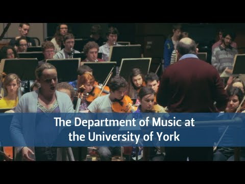 The Department of Music at The University of York