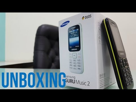 Samsung Guru Music 2 | Unboxing | First Time | Hindi Unboxing | India