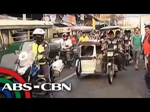 UKG: Clearing ops vs kolorum na tricycle, isinagawa sa QC