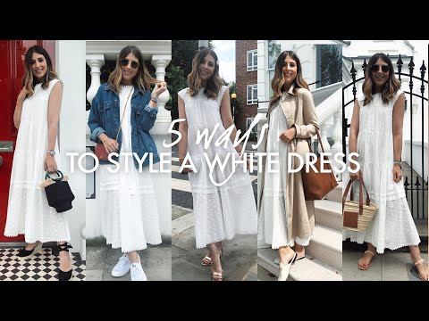 5 WAYS TO STYLE A WHITE DRESS   WE ARE TWINSET