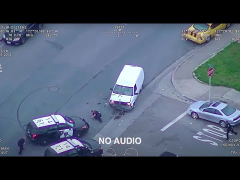 Chaotic body camera footage show police shooting murder suspect