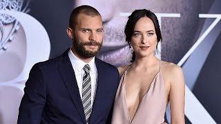 EXCLUSIVE: Jamie Dornan and Dakota Johnson Reveal Their 'Fifty Shades' Pre-Sex Scene Rituals