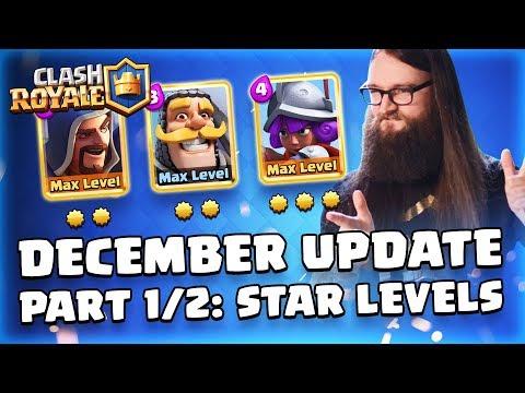Clash Royale: December Update Reveal Part 1/2! (TV Royale)