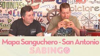 Mapa Sanguchero: Jaime Artus visitó Llolleo y Santo Domingo - Sabingo