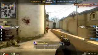 CS:GO - Solo ace and Last placement game