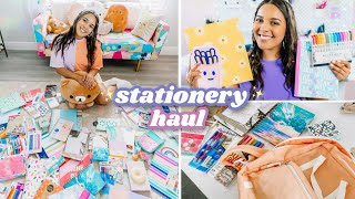 ✨ aesthetic back to school supplies haul 📓🌈 stationery essentials🖋