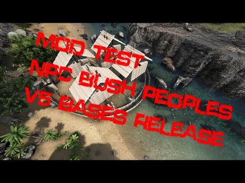 R I P  NPC BUSH PEOPLE - Ark: Survival Evolved by Krusty Pickles Gaming