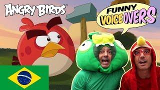 Angry Birds - Funny Voice Overs - BRASIL | Irmãos Piologo | Mania de Perfeição (Just So)