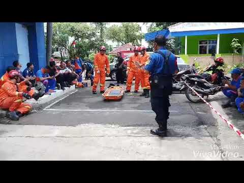 Skill Kompetisi Vertical Rescue Jakarta Barat.