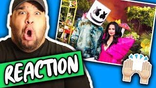 Marshmello & Demi Lovato - OK Not To Be OK (Official Music Video) REACTION